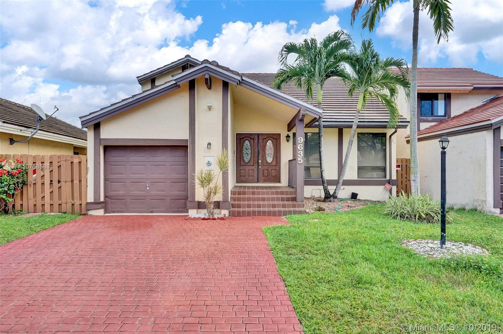 9635 S W 148 Place  For Sale A10758588, FL