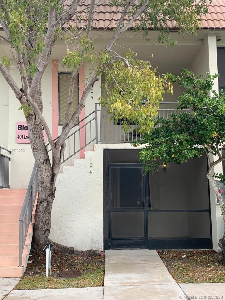 401  Lakeview Dr #104 For Sale A10760523, FL