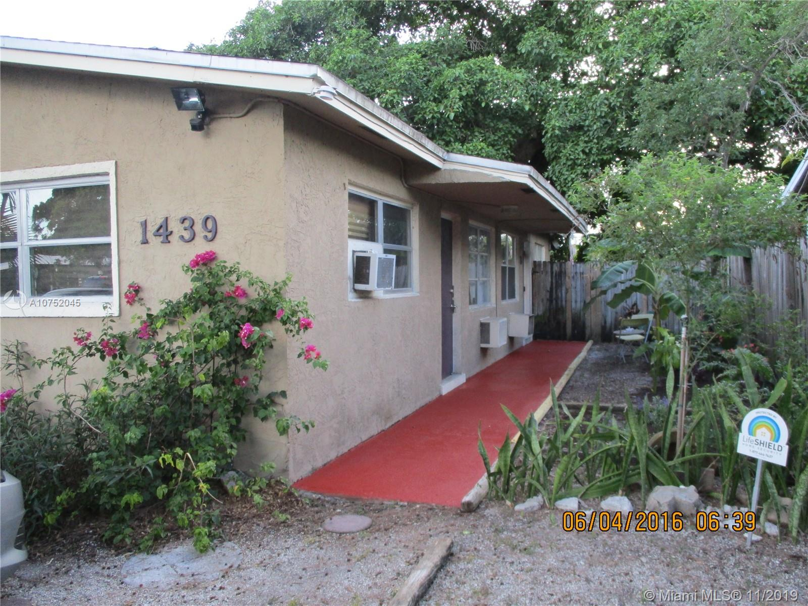 1439 N W 4 avenue #A For Sale A10752045, FL