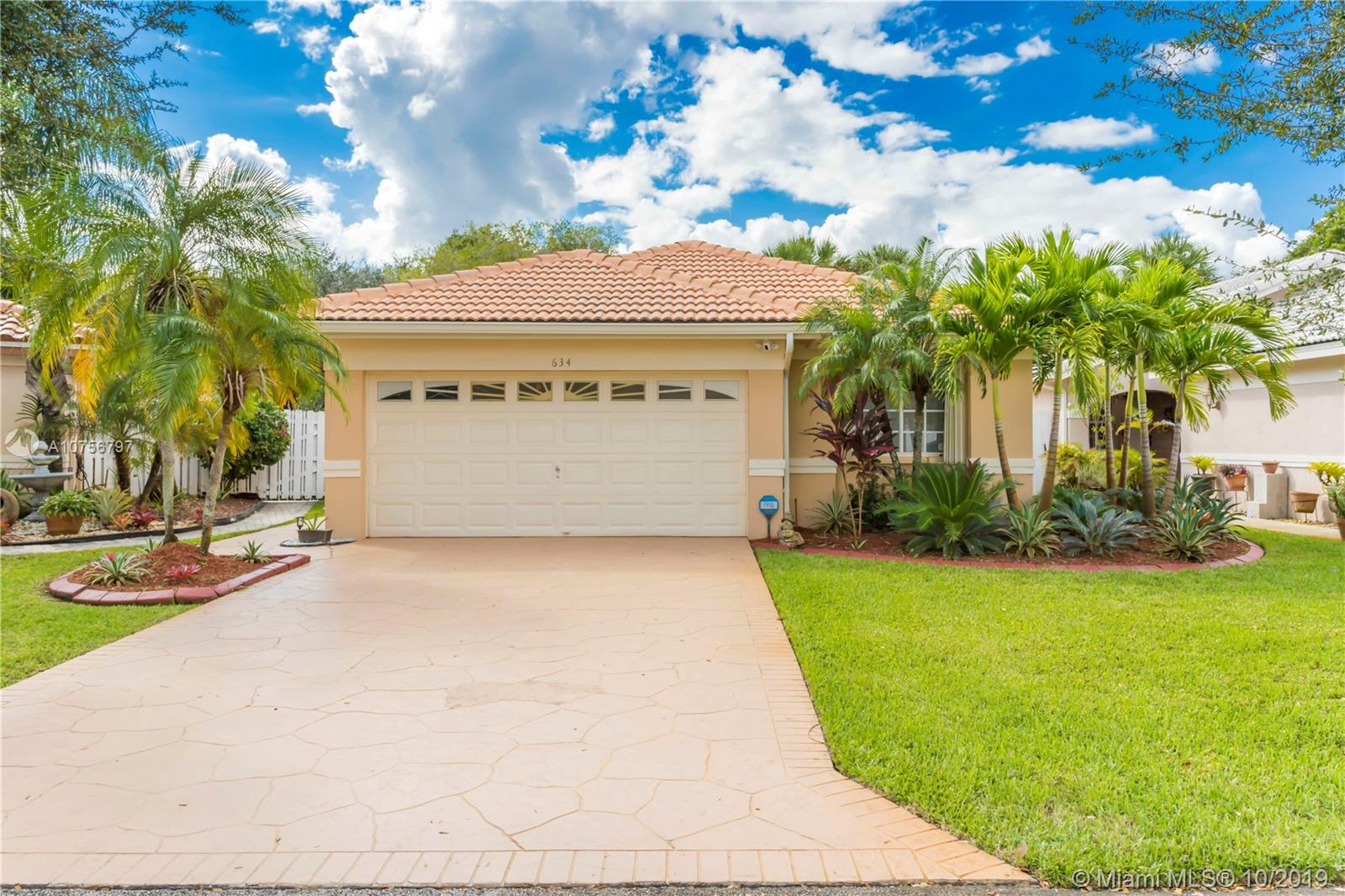634 SW 177th AVE  For Sale A10756797, FL