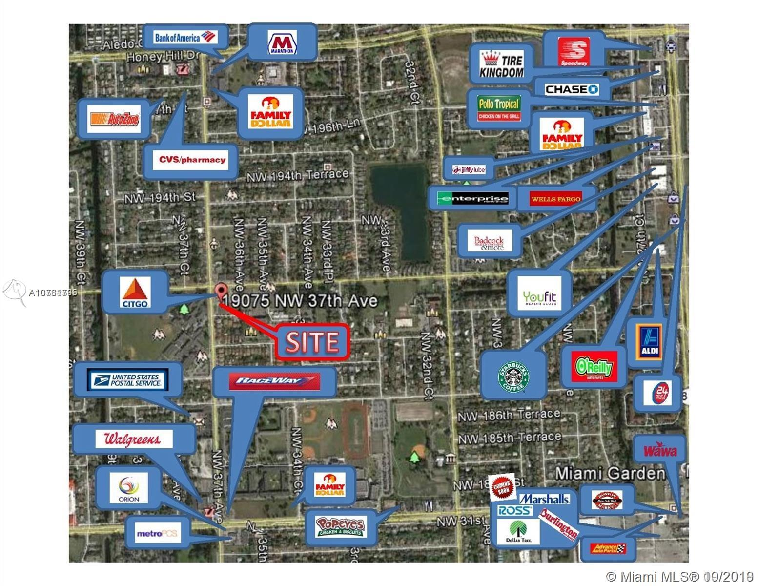 19025 NW 37th Ave  For Sale A10761795, FL