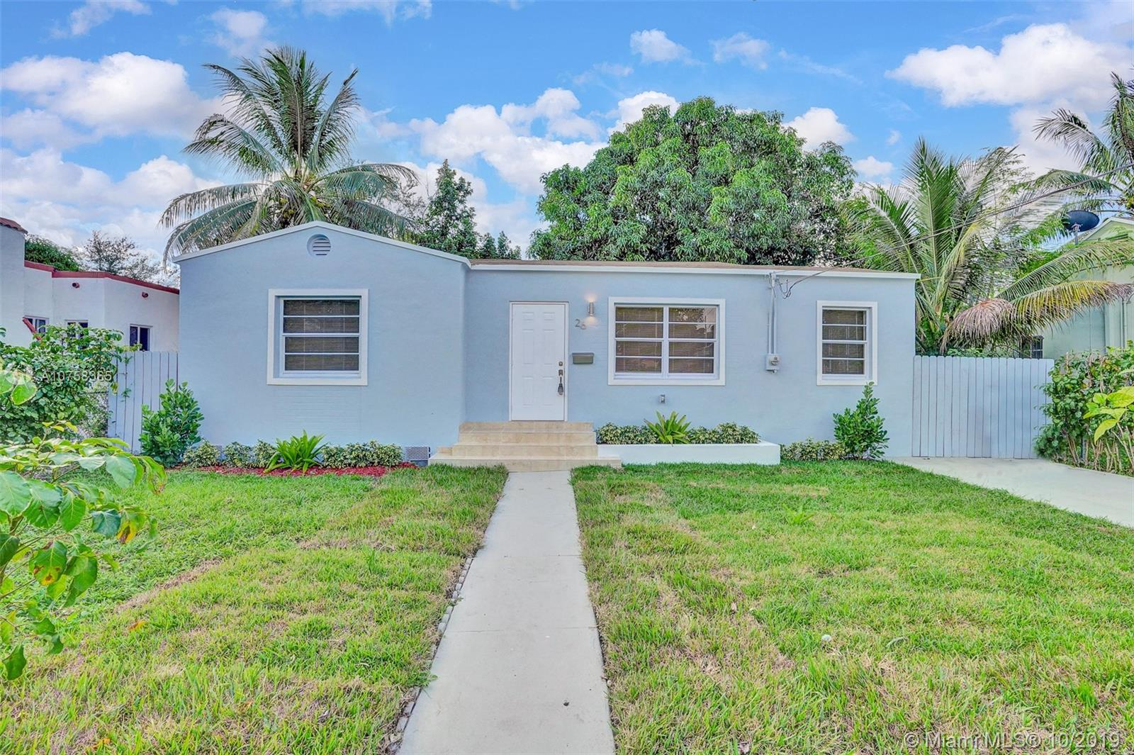 26 NE 70th St  For Sale A10758365, FL
