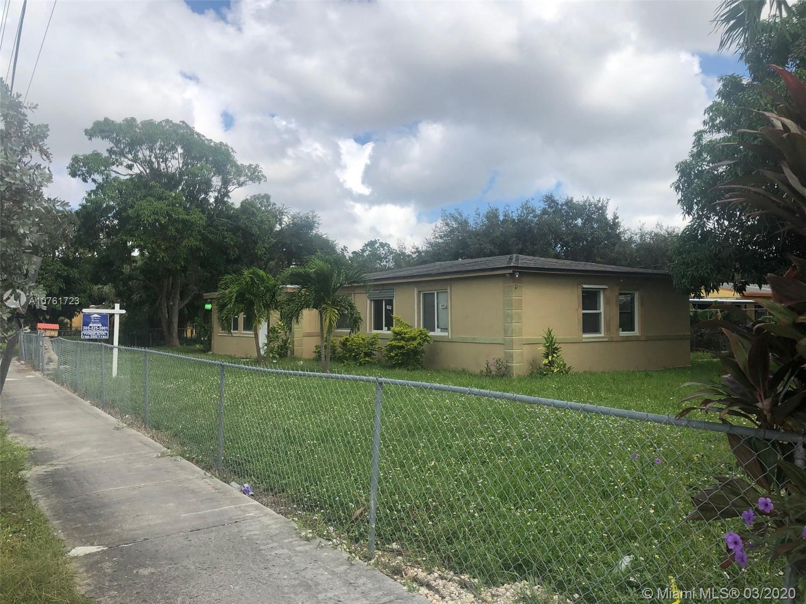 13275 NW 17th Ave  For Sale A10761723, FL