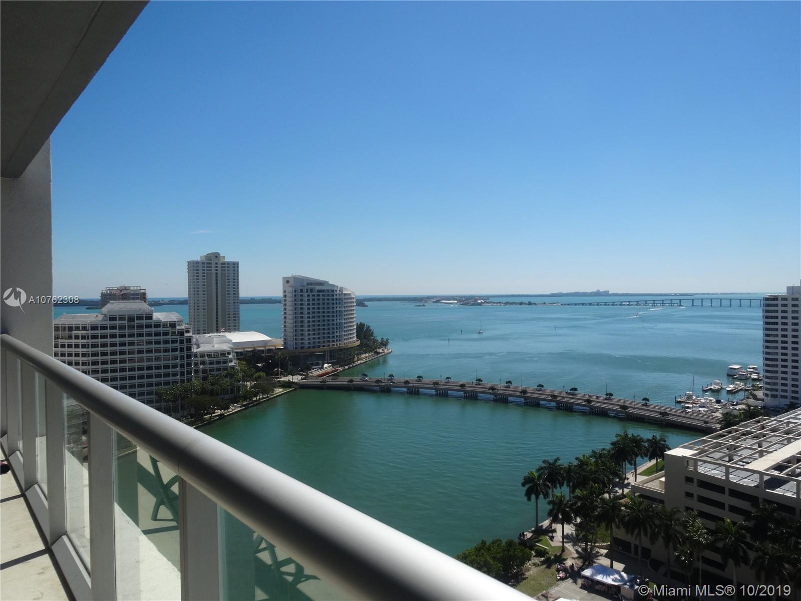 Amazing views from this 1/1 at Icon brickell. Unit is in excellent condition. Top of the line appliances, blinds/shades. Building has 5 star like resort amenities including: valet, concierge, gym, incredible spa and spa areas with treatment rooms, lap pool, in house market and deli cafe, etc. Ideally located in the heart of Brickell close to restaurants, Brickell City centre and metro mover. THIS UNIT IS RENTED TILL NOV 2020. Ideal for investor.