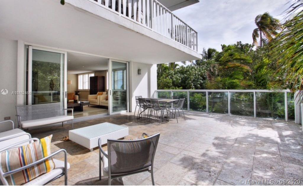 Boutique Co-op, the best kept secret of our island. Only 117 large units. Completely updated, 2 private in-suite master bedrooms, south-east exposure and unit have marble floors, walking closets, open kitchen w/high end designer finishes, upscale appliances, floor-to-ceiling impact glass doors and windows, huge terrace to enjoy the ocean and beach breeze. Exclusive oceanfront full service building, a resort style amenities with direct beach access, on site management & 24 hrs. security. Impeccable maintained, association fee includes A/C, electricity, water, cable TV, Internet, gym, BBQ, party room facing the pool, valet, and engineer on site. Priced under assessed value.