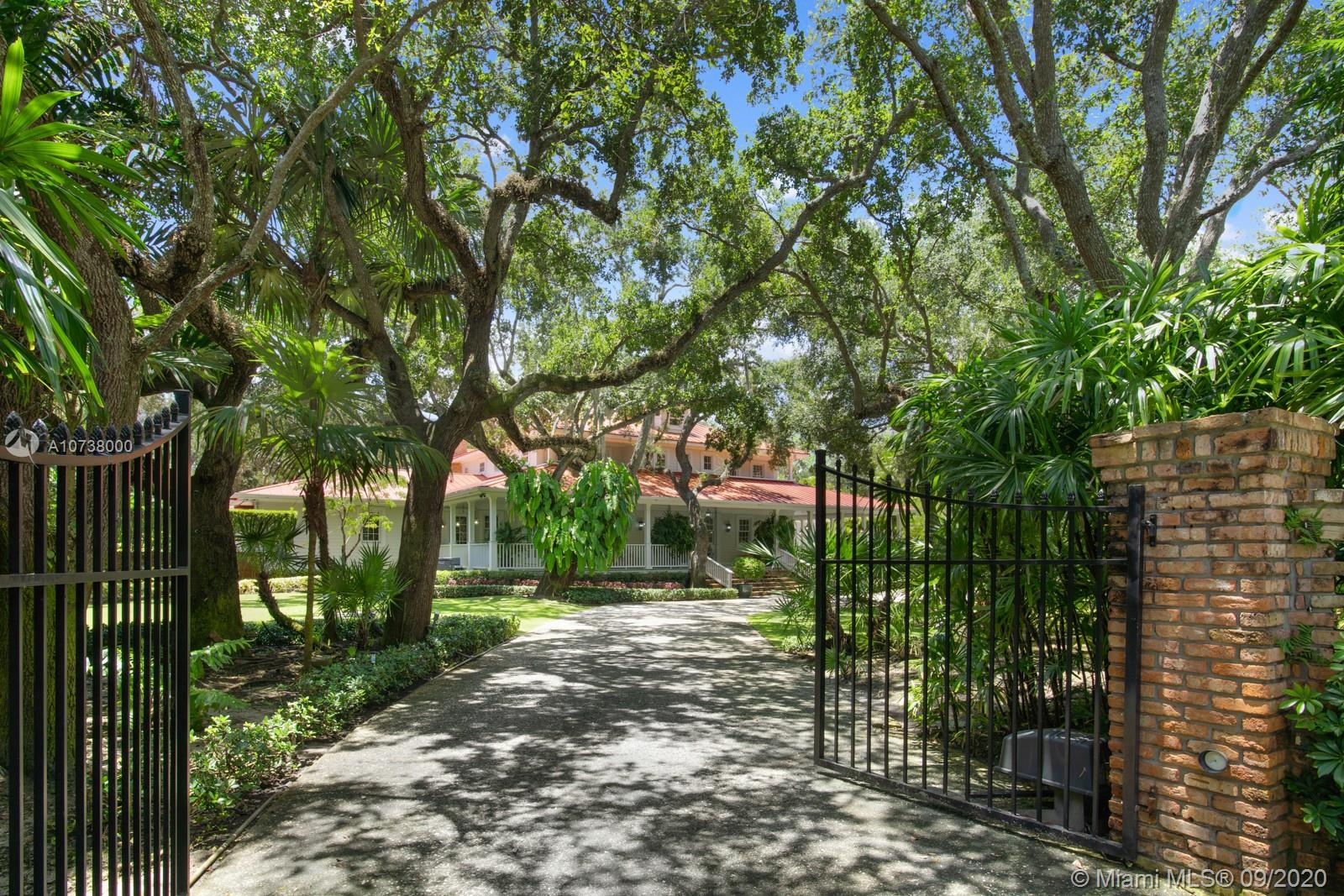 A rare offering of one of the finest waterfront homes in Snapper Creek with private dockage for serious boaters and direct bay access.  This custom home, designed by David Johnson, resides on almost 1.5 aces of lush landscaping, including exquisite lawns, mature trees, ½ basketball court, resort like pool, and 2 story guest house.  The 16k SF house, wrapped with wide porches, has 6 bedrooms and 6.5 baths, a gourmet eat in kitchen, 2 family rooms, formal living and dining rooms, 5,000 bottle wine cellar, gym, media room, game room, dedicated play area for kids, wood cloaked office, 4 car garage with multiple storage areas and generator which can power the house for 2 weeks.  A truly one of a kind exceptional residence.