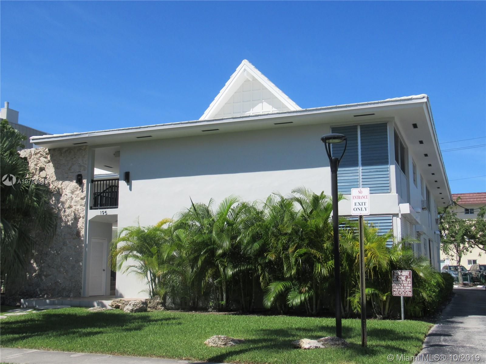 195  Sunrise Dr #10 For Sale A10753932, FL