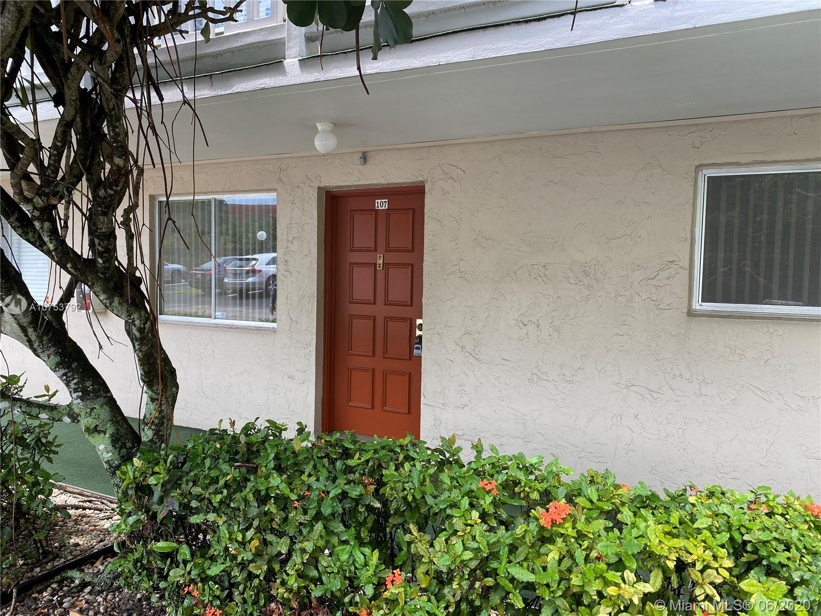 """Convenient 2/2 first floor unit in gated Las Vistas In Inverrary. Foyer entry. Eat-in kitchen. Pass thru to living/ dining. Split floor plan. Spacious master. Walk-in closet both beds. Patio utility. Hurricane impact sliders. Tranquil lake and golf views. Association states HOPA. Minimum 20% down payment. 6 months maintenance held in escrow for 18 months. No pets. No lease first year. Corporate buyers ok. Property is being sold """"As Is"""" and subject to HUD guidelines 24 CFR 206.125. PLEASE CALL CO-AGENT LISSETTE JIMENEZ FOR SHOWING INSTRUCTIONS"""