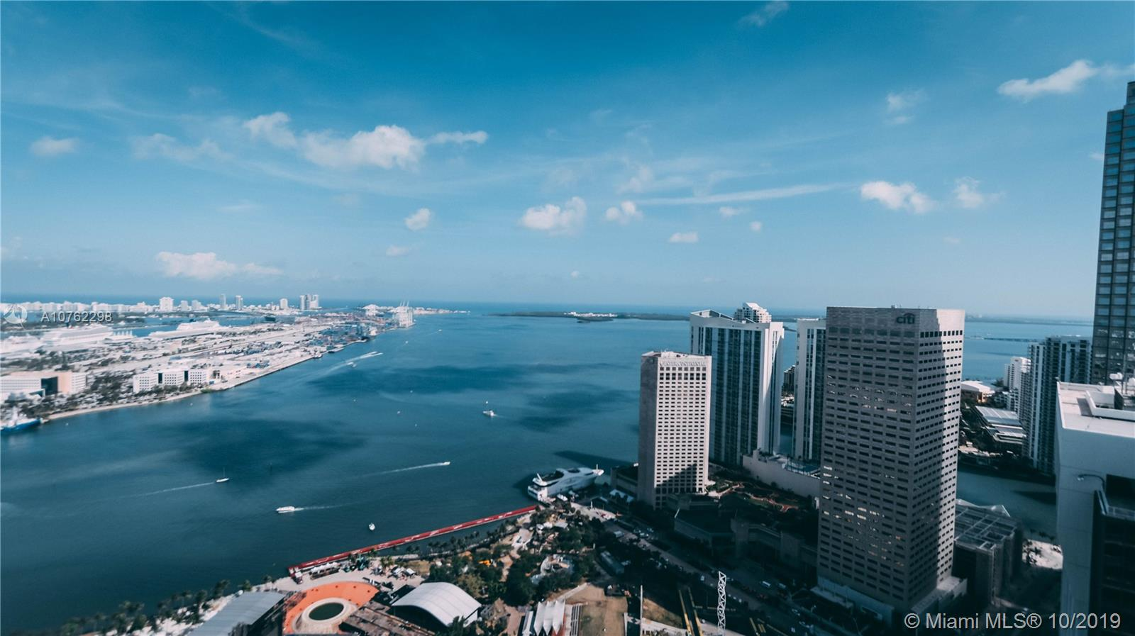 Beautiful remodeled unit with terrific bay views, from a high level unit. This furnished condo is in pristine