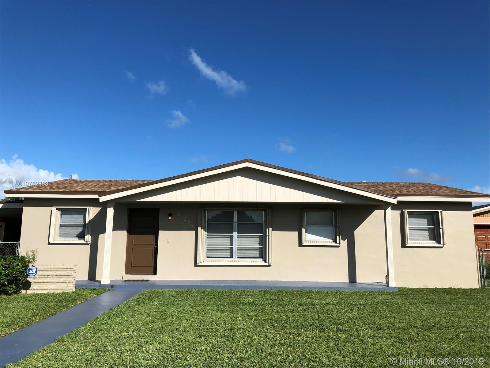 14295 SW 109th Ct  For Sale A10762898, FL