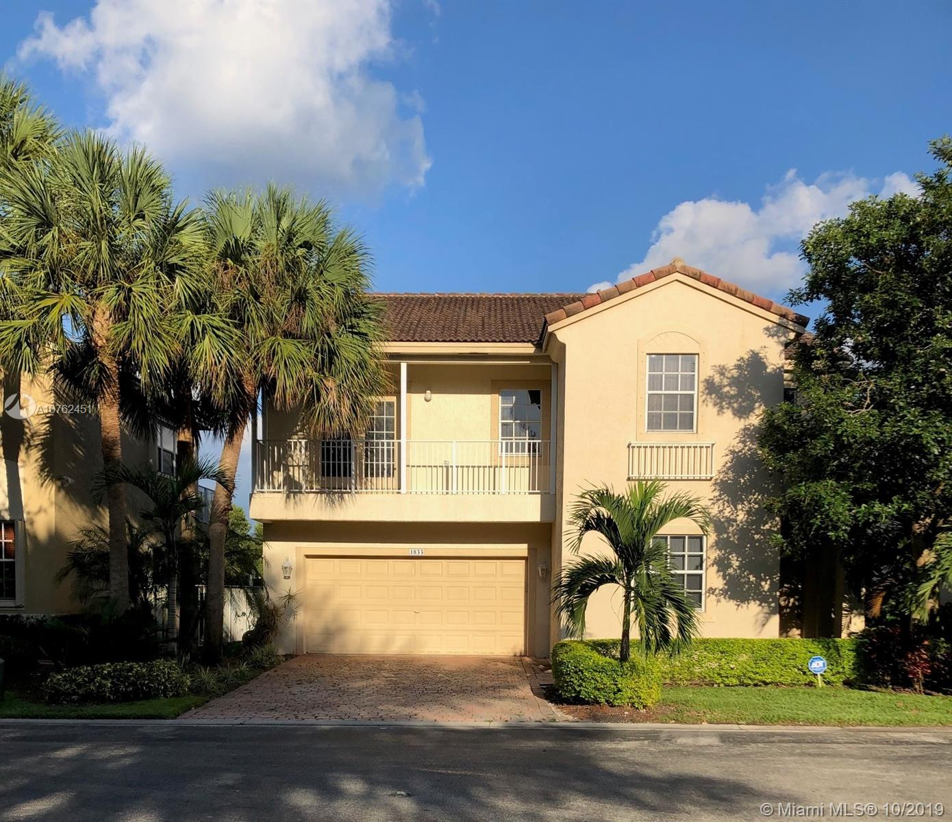 1833 NW 74th Way  For Sale A10762451, FL