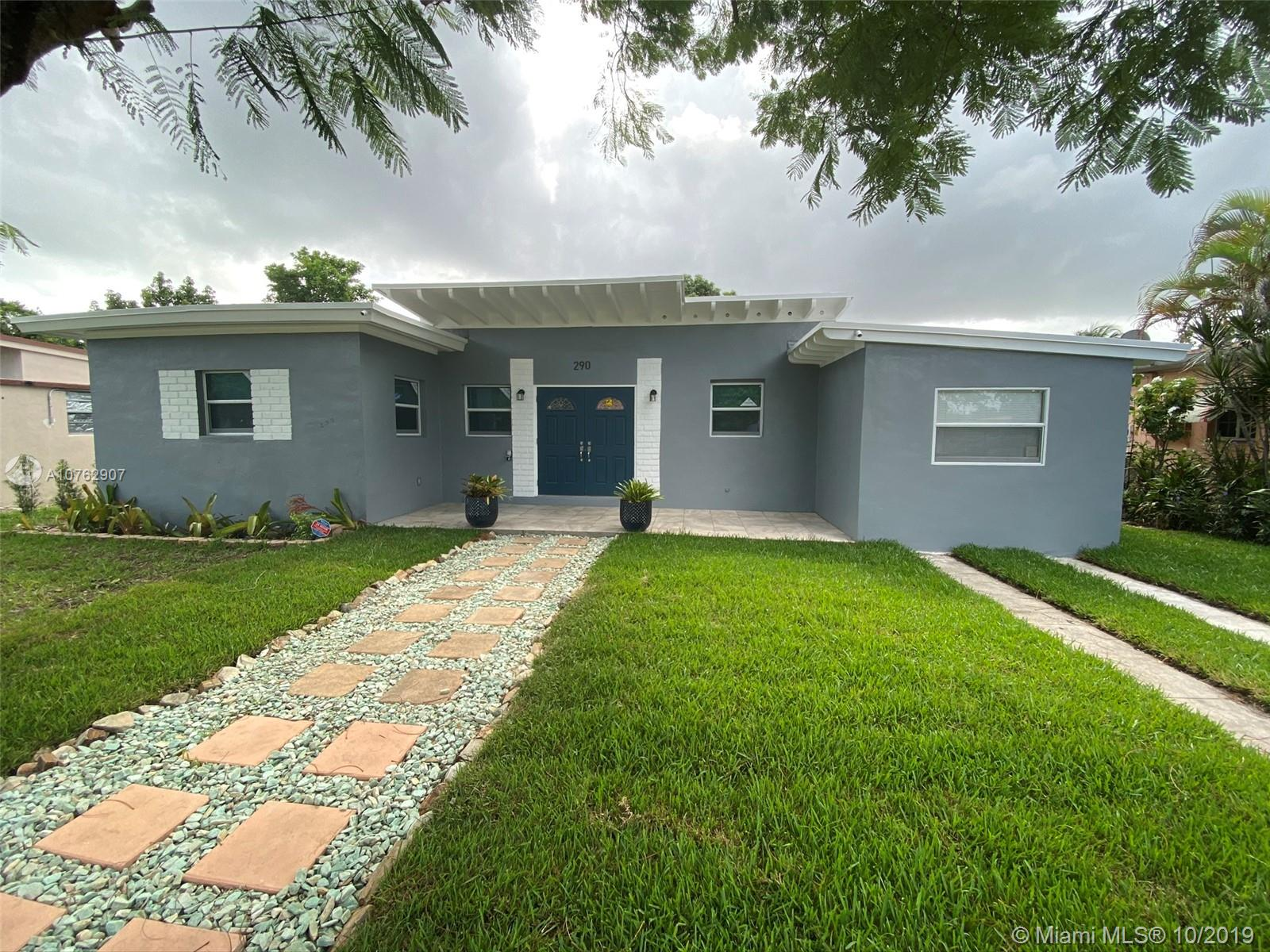 290 N W 111th St  For Sale A10762907, FL