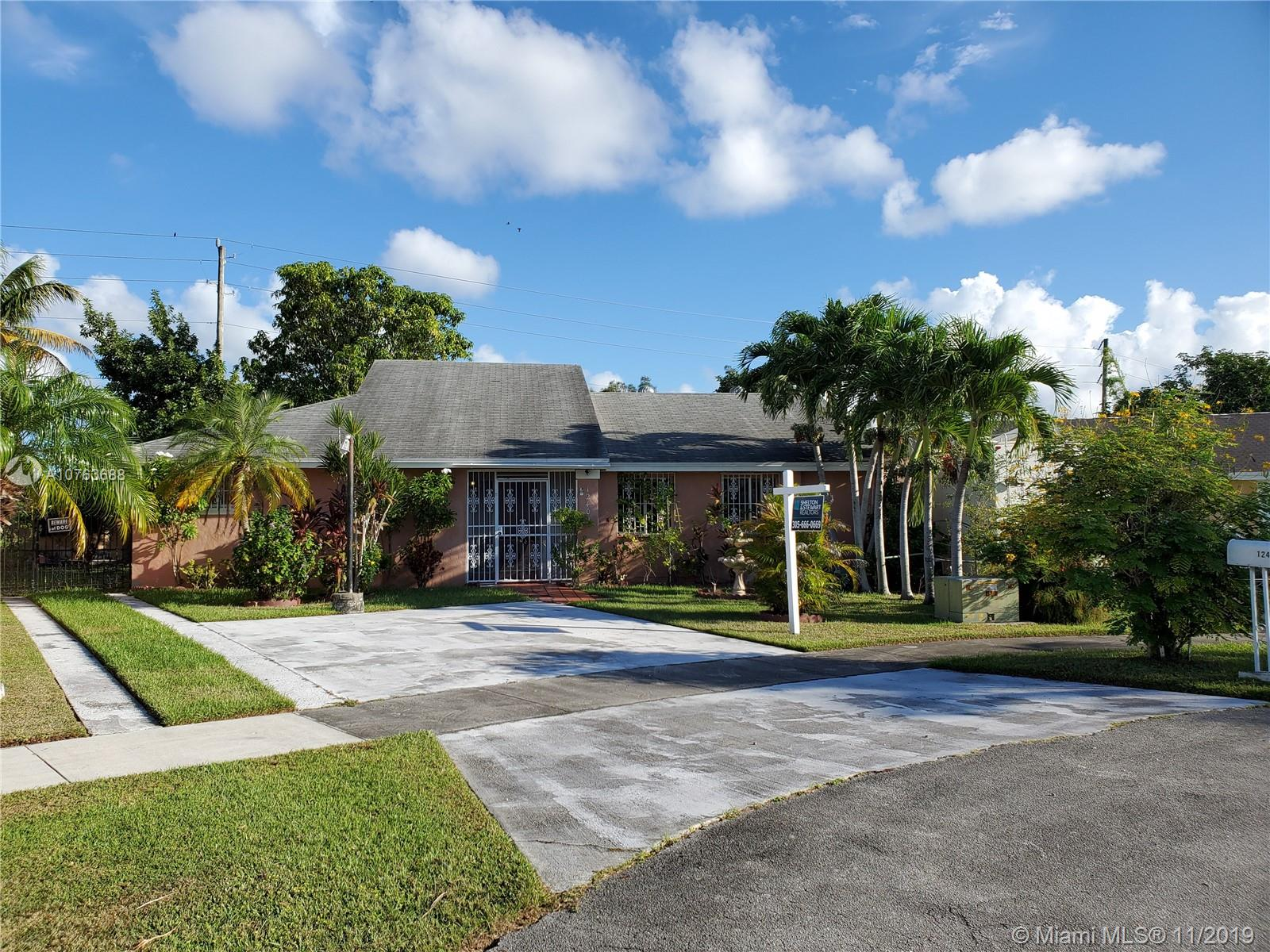 12409 S W 200th Ter  For Sale A10763688, FL