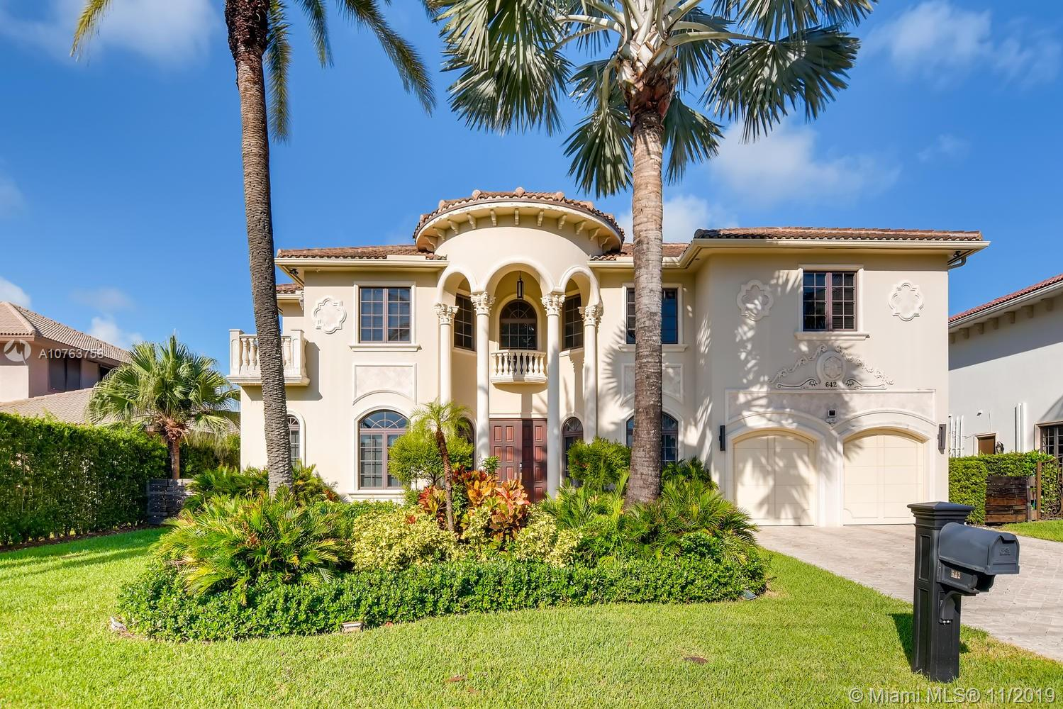 642  Palm Dr  For Sale A10763758, FL