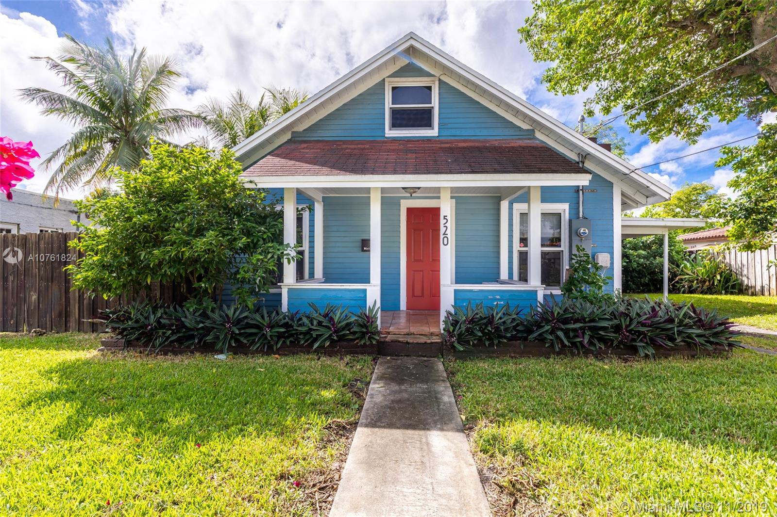 520 N E 129th St  For Sale A10761824, FL