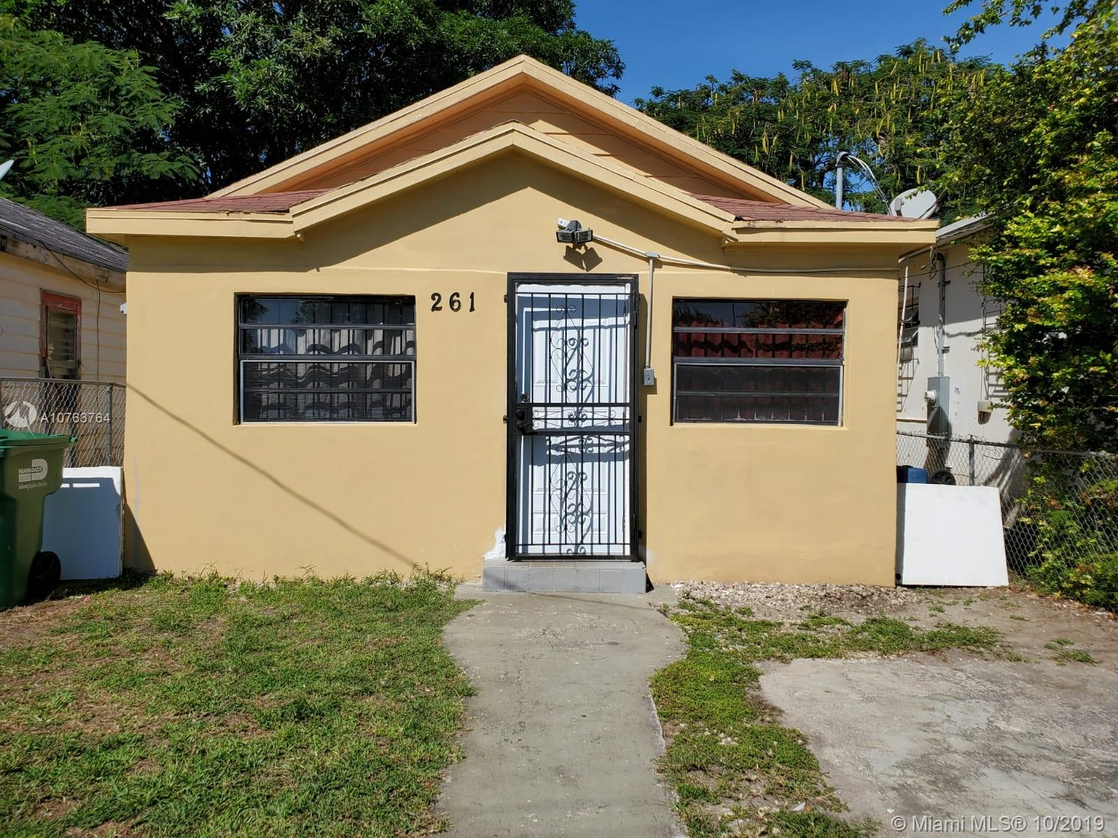 261 NW 80 ST  For Sale A10763764, FL