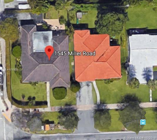 1545  Miller Rd  For Sale A10763828, FL