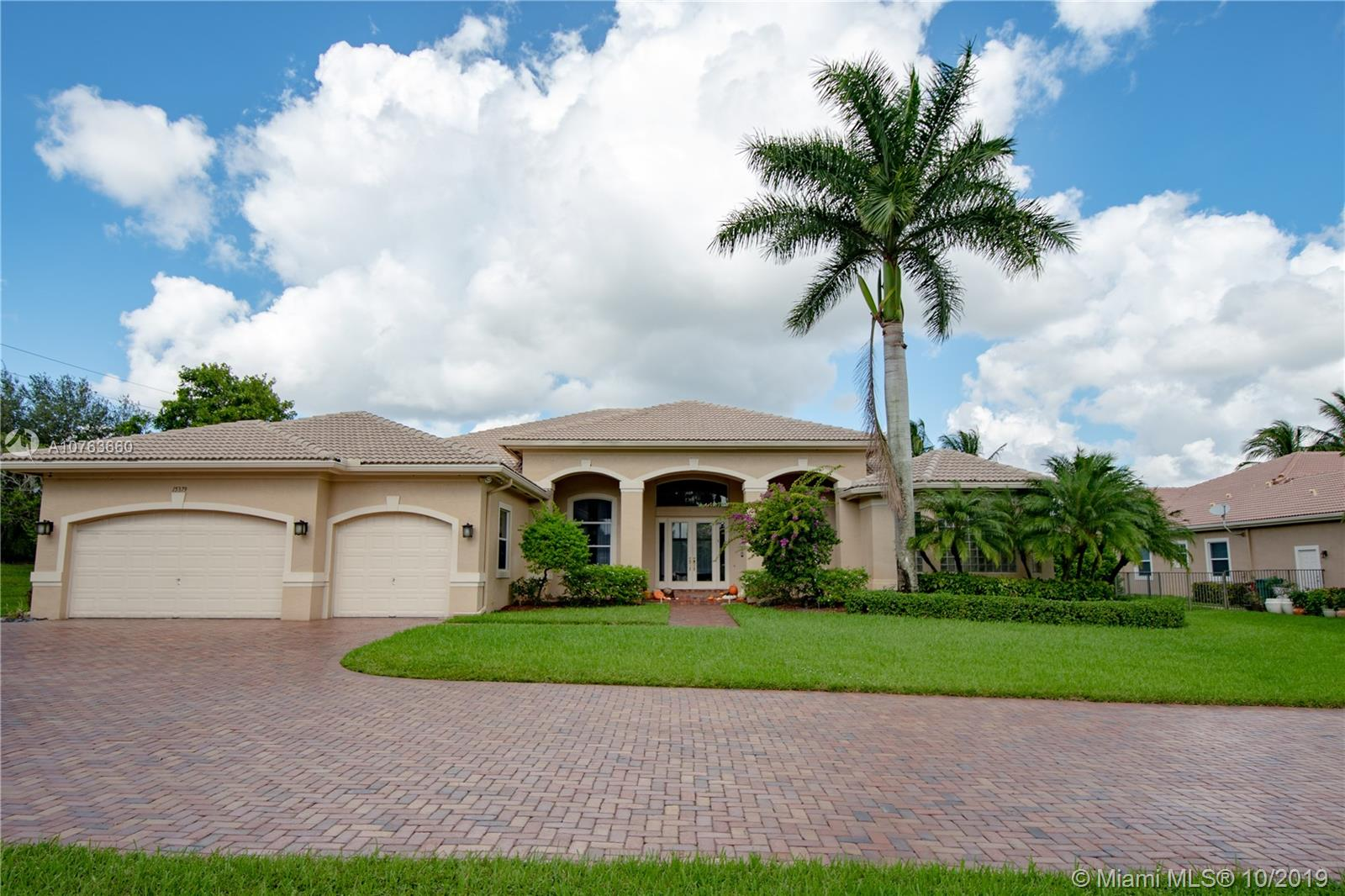 15379 SW 33rd St  For Sale A10763660, FL