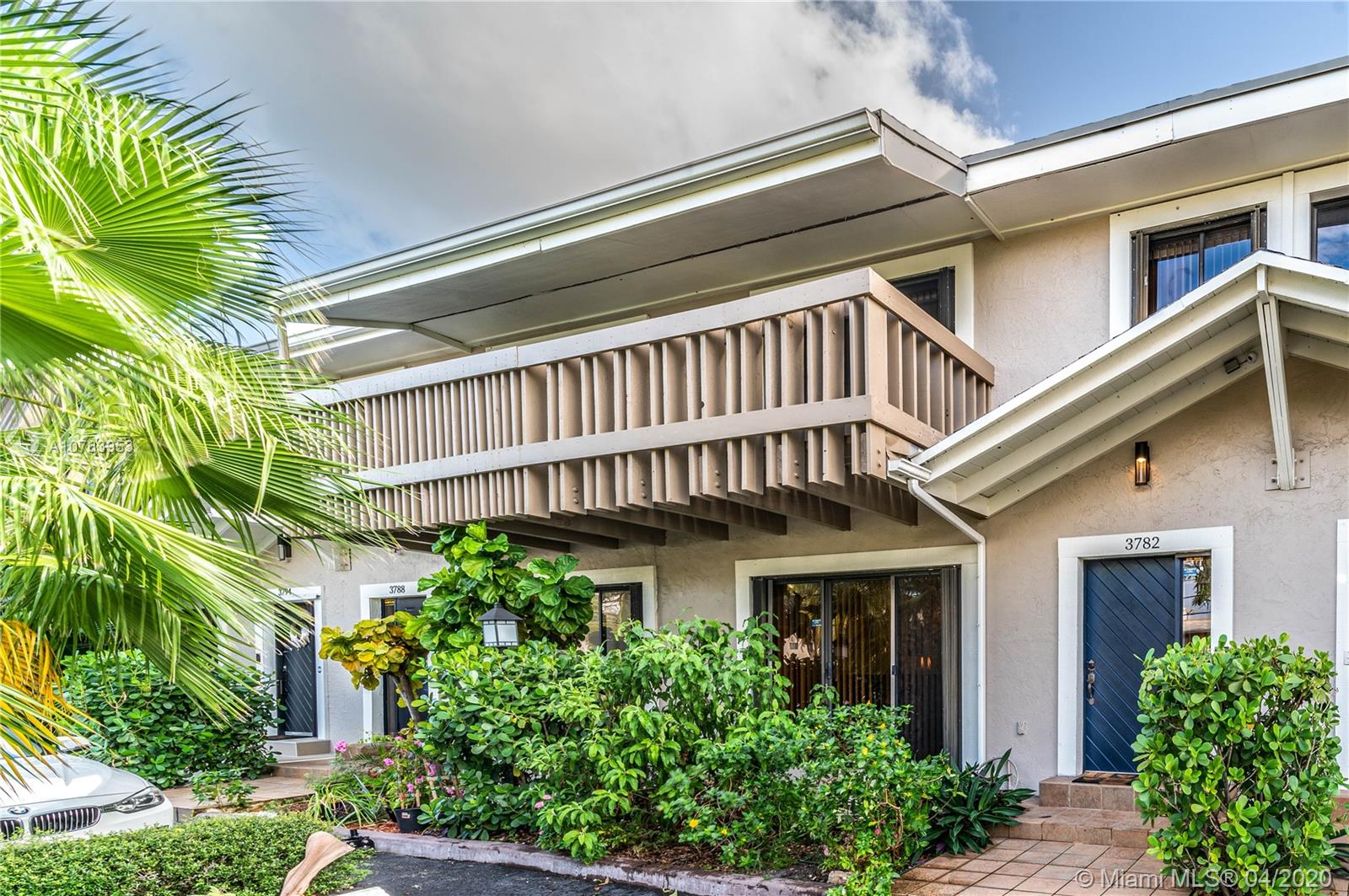 Beautiful and spacious waterfront townhome with 35 ft dock directly behind the property and almost 2,000 sq ft of living space. Access the Intracoastal and the ocean with no bridges, located only minutes away from the intracoastal waterway and 3 miles North of Haulover Inlet in N. Miami.The Tides Towhhomes is a secluded community -only 17 townhomes. It offers privacy with no buildings on the back of the property, only canal view.  This home was renovated, has large porcelain tile floors downstairs and open kitchen. The bedrooms are pretty large, the master bedroom with balcony overlooks the water and the master bath is huge with a shower / jacuzzi tub. In addition, there is a Sauna Room on the second floor. The deck-sitting area has Dura Dock instead of wood. Very affordable HOA.