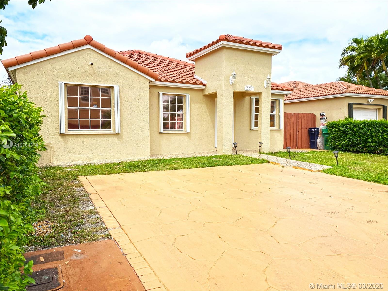 12973 SW 150th Ter  For Sale A10764679, FL