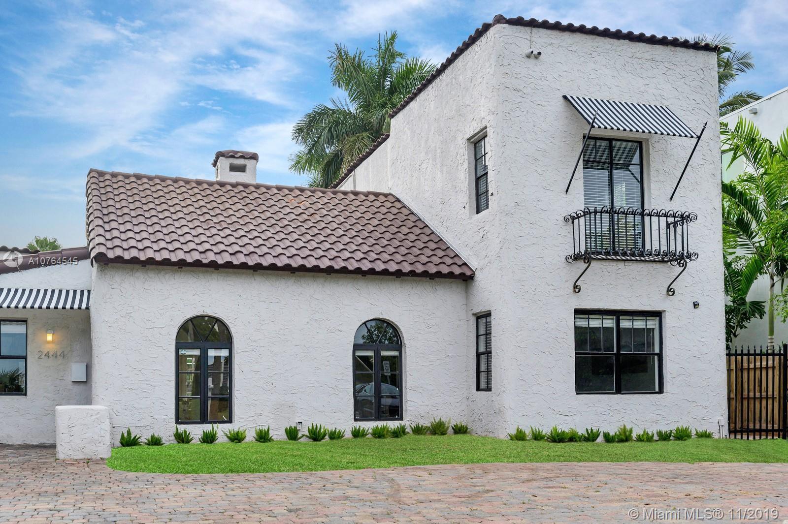 2444  Prairie Ave  For Sale A10764545, FL