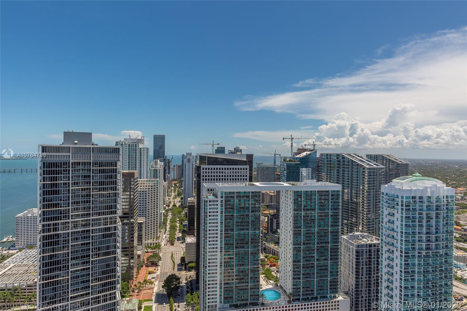 200  Biscayne Boulevard Way #5208 For Sale A10764796, FL