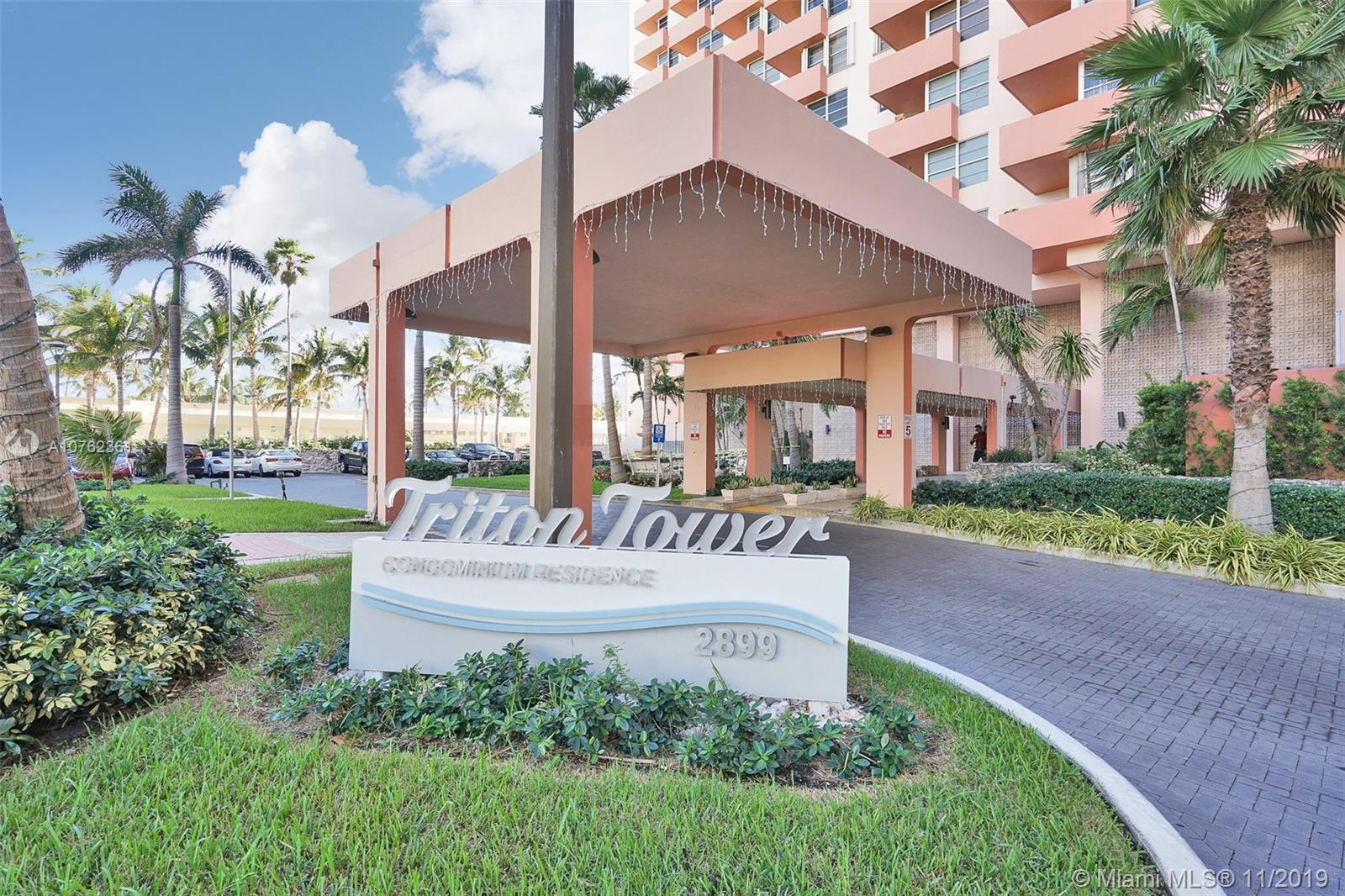 2899  Collins Avenue #612 For Sale A10762361, FL