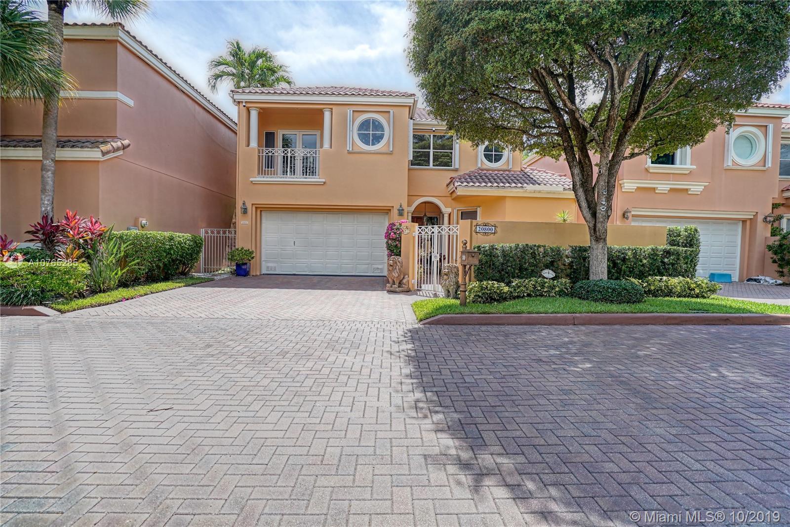 20800 NE 37th Ave  For Sale A10765285, FL
