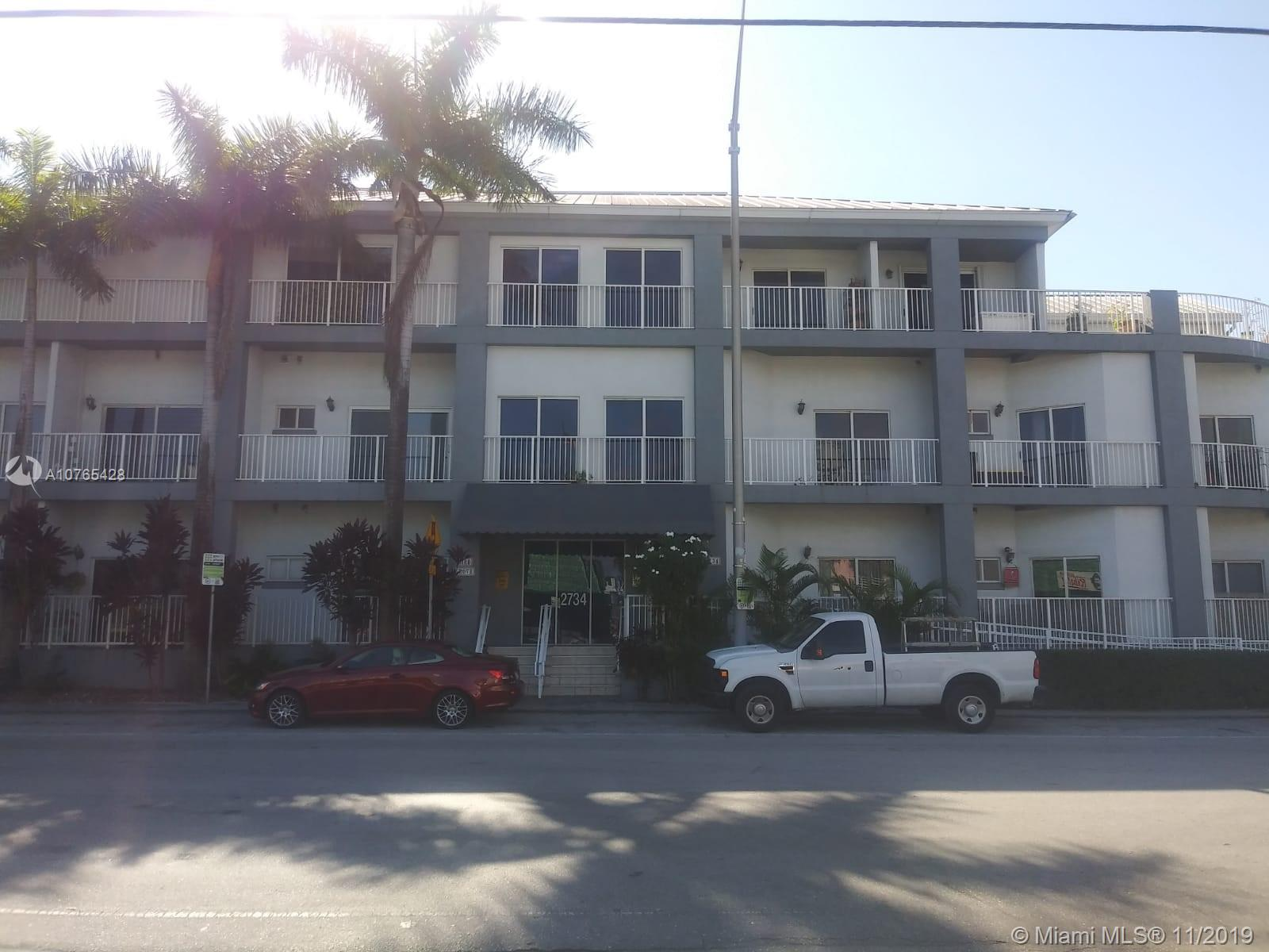 Updated unit in Coconut Grove. Walking distance to Cocowalk, Parks, entertainment, shopping. Close to UM and Metro station. 5 Minutes to Brickell. Very quite and secured newer building with covered parking. Per seller Units is 660 SF, (bigger than tax roll). Unlike the other unit, this one has an extra closet as well as impact sliding door. Low maintenance fee. Covered parking. Quite building. Only 39 units. Maintenance concierge Monday to Friday.