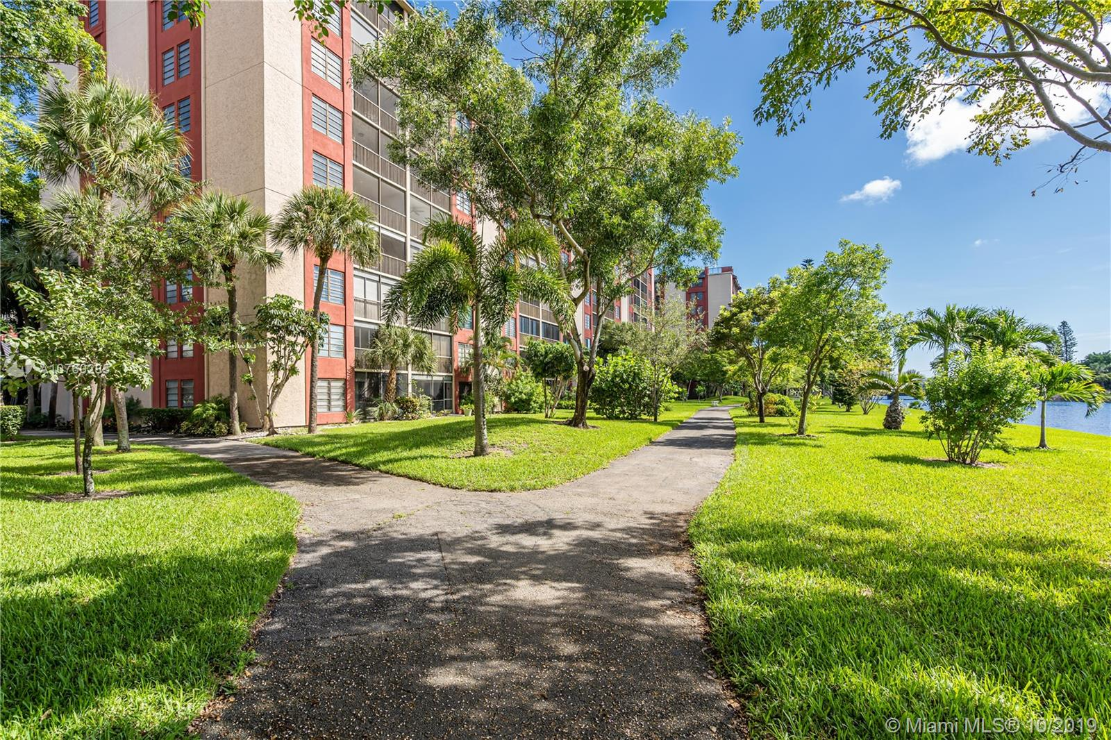 Bright, Immaculate and spacious 2 Bed & 2 Full Baths Condo on the 6th Floor of the highly sought Cypress Bend Community. Great CORNER Unit overlooking the canal and green areas. Ultra-Spacious Floor Plan includes a beautiful open eat-in kitchen with new Stainless-Steel Appliances. Tastefully painted, this Condo Features a bright open living area. Master Bedroom has TWO large walk-in closets and easy access to the screened balcony. Laundry Room Conveniently located inside the unit. Water and Cable included in the association fee. Amazing amenities including resort-like Pool, Club House, playground, tennis & racquetball courts, 2 gyms and more. Very close to the Isle Casino & Racing Pompano Park and a short ride to the Pompano Beach Arts Center. Paradise-Like Beaches are Just a Breeze Away.