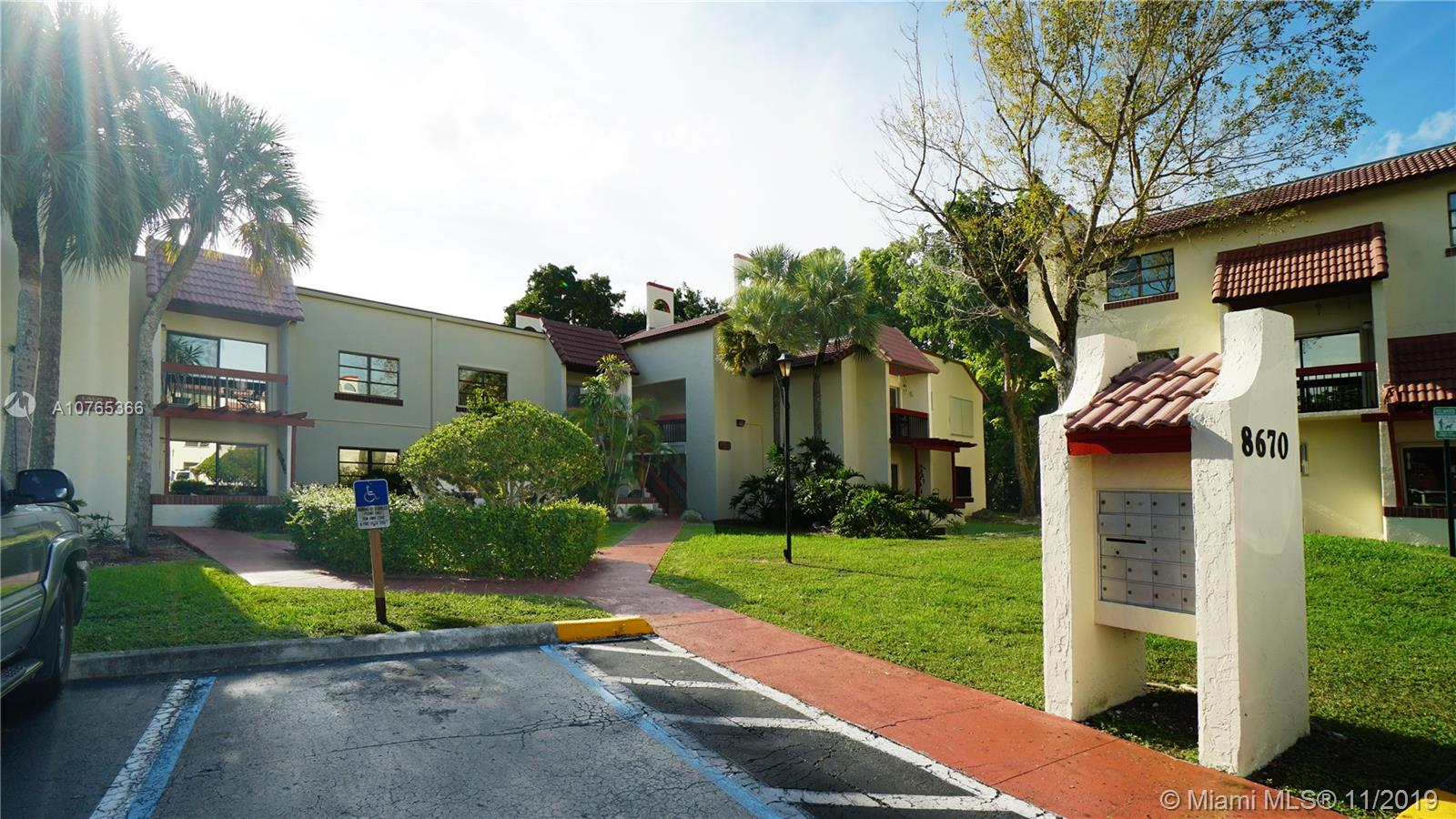 8670 SW 149th Ave #103 For Sale A10765366, FL