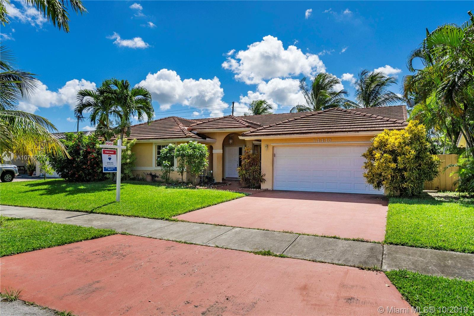 14440 SW 166th Ter  For Sale A10765179, FL
