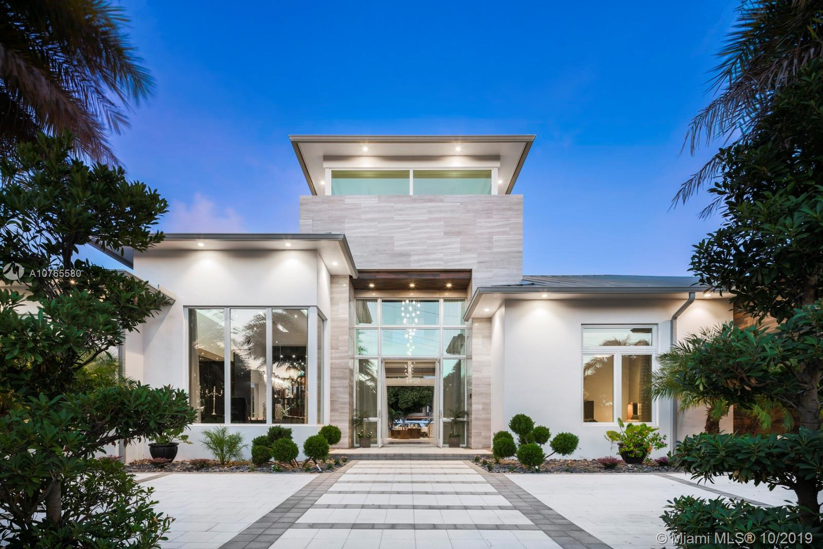 Spectacular Seven Isles single story waterfront estate featuring over 8000 sq feet of living luxury. Nestled on 160 feet of water frontage and steps to Las Olas.  Reduced millions for a quick sale.  Designer finishes by Steven G and available turnkey.  This stunning showplace offers 6 en suite bedrooms/7.5 baths.  Volume ceilings, luxe master suite, gourmet kitchen with custom lighting and imported fixtures.  Distinctively crafted for the most discerning taste. Dock your yacht and have room for up to 8 cars in the garage with privacy gate.   Great value and ready for immediate occupancy.