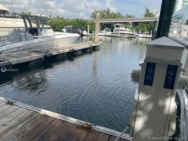 3575  Mystic Pointe Dr, Slip 96  For Sale A10765779, FL