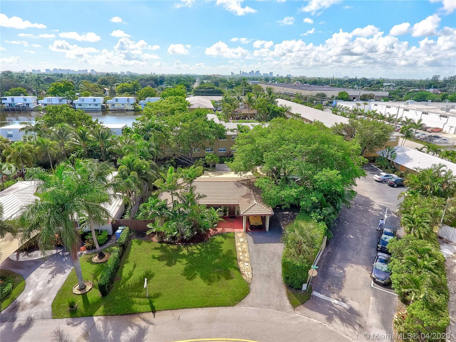 Single Family home located in the up and coming area of Oakland Park, Lot is 9844 sqft, plenty of space to build a pool if desired, or great backyard for entertaining, Great cute house with lots of potential to update at your own taste,upgrades include, new electrical box, Brand new gas water heater tank, New Roof installed December 2018. Close to Dixie highway and US1, easy to get to 95 and walking distance from restaurants and brewery , easy to get to Fort Lauderdale airport and Las Olas Blvd.