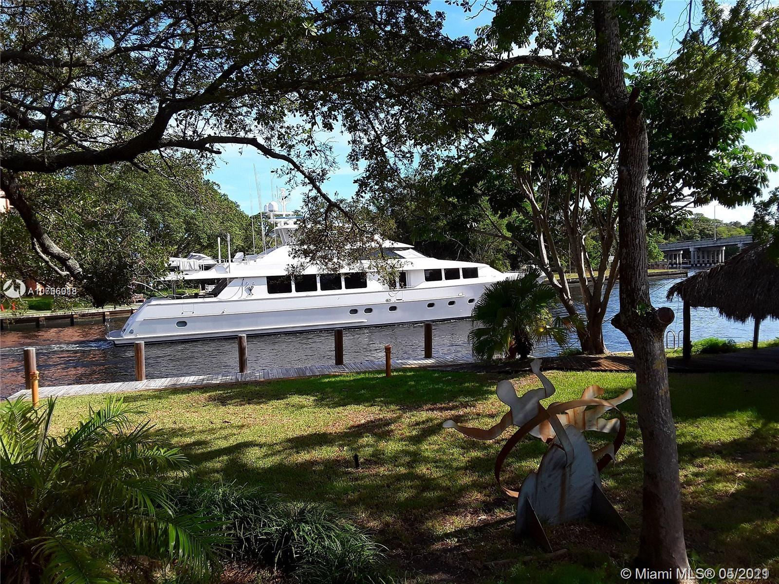 """* THE LARGEST LOT IN EAST FORT LAUDERDALE WITH MEGA YACHT DOCKAGE *  MASSIVE 32,000 SQ FT PROPERTY DIRECTLY ON THE WIDEST PART OF THE NEW RIVER  * 130 FT OF SEAWALL !  NO-FIXED BRIDGE WITH DEEP WATER DOCKAGE! LOCATED IN A NO-WAKE ZONE! (CAN LEGALLY HOLD A LARGE YACHT UP TO 120 FT WITH A 30 FT BEAM) VERY HARD TO FIND! * THERE IS A NICE 4/3 RANCH HOME ON THE PROPERTY WITH APPROX. 4000 SQ FT. THE HOME IS IN GOOD SHAPE WITH NEW ROOF IN 2020. POOL WITH A 2 CAR GARAGE! THIS PROPERTY OFFERS """"OLD FLORIDA"""" PARK LIKE GROUNDS WITH ROOM FOR A NEW MASSIVE ESTATE HOME WITH TENNIS/BASKETBALL COURT.  THE HUGE CIRCULAR DRIVEWAY CAN HOLD UP TO 20+ CARS INSIDE YOUR SECURED PRIVATE COMPOUND. THE PERFECT PROPERTY IF YOUR LOOKING FOR EXTREME PRIVACY. 5 MINUTES TO DOWNTOWN AND 10 MINUTES TO THE AIRPORT."""