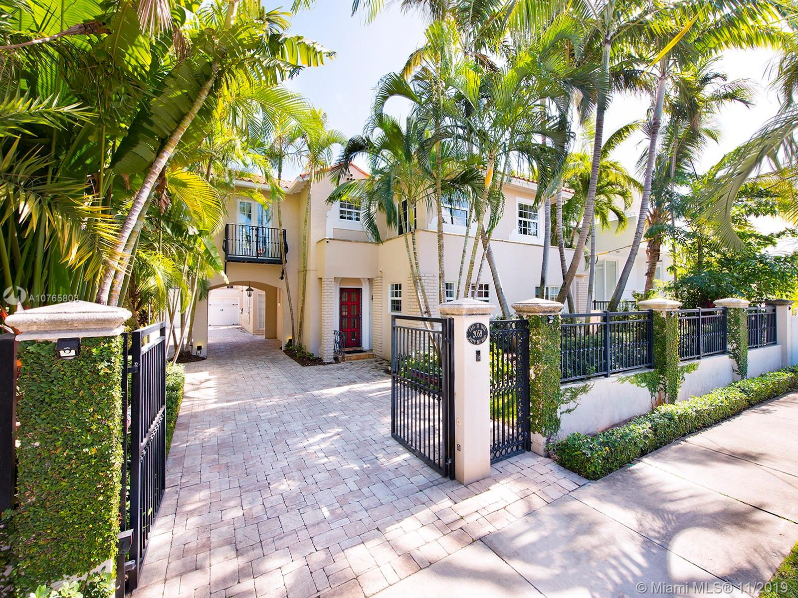 2059 N Bay Rd  For Sale A10765803, FL