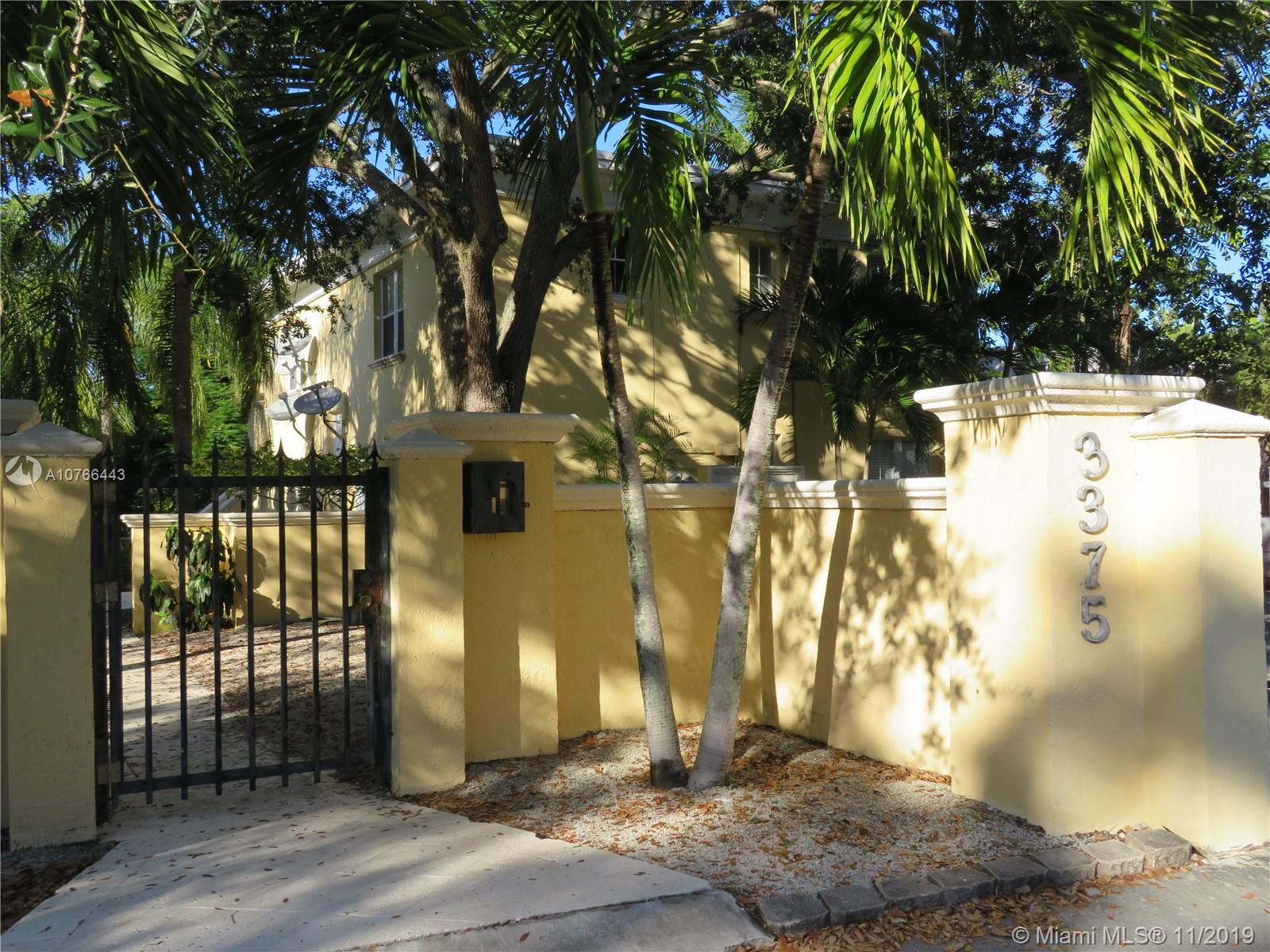 3375  Franklin Ave #D For Sale A10766443, FL