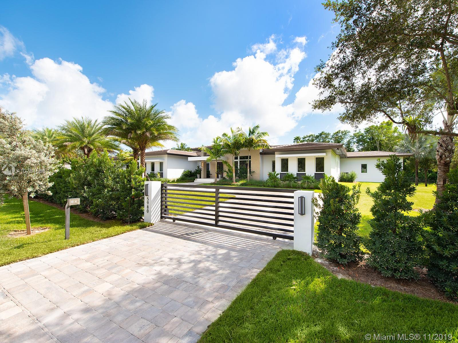 5980 S W 120th St  For Sale A10764588, FL