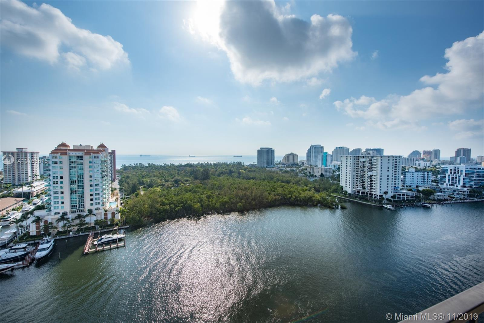COMPLETELY RENOVATED INTRACOASTAL CONDO WITH BREATHTAKING DIRECT OCEAN AND INTRACOASTAL VIEWS WHICH MUST BE SEEN TO BE APPRECIATED. ROOFTOP POOL, CLUB ROOM AND PANORMIC 360 DEGREE VIEWS OF OCEAN AND INTRACOASTAL .  SEMIPRIVATE ELEVATOR ENTRY,  ONSITE MANAGER WITH 24 HOUR SECURITY, FITNESS CENTER, AND GALLERIA MALL A SHORT WALK.