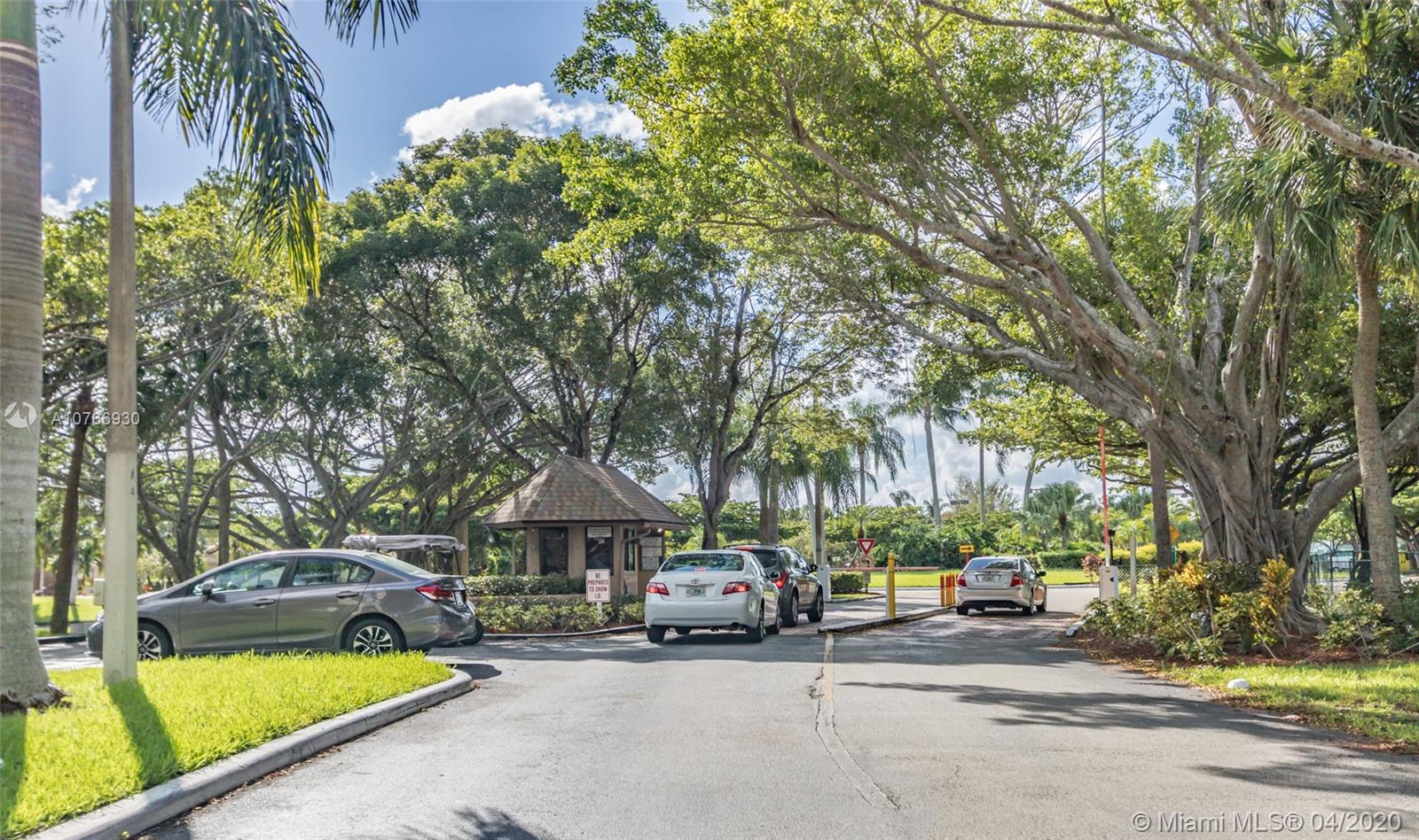Great opportunity for an awesome price!! This townhouse features a remodeling kitchen, tile floors and an extra Den. Nice gated community with a huge pool area, gyn, tennis courts,  available storage for small boats and commercial vehicles or trailers and some other amenities. Easy to show.