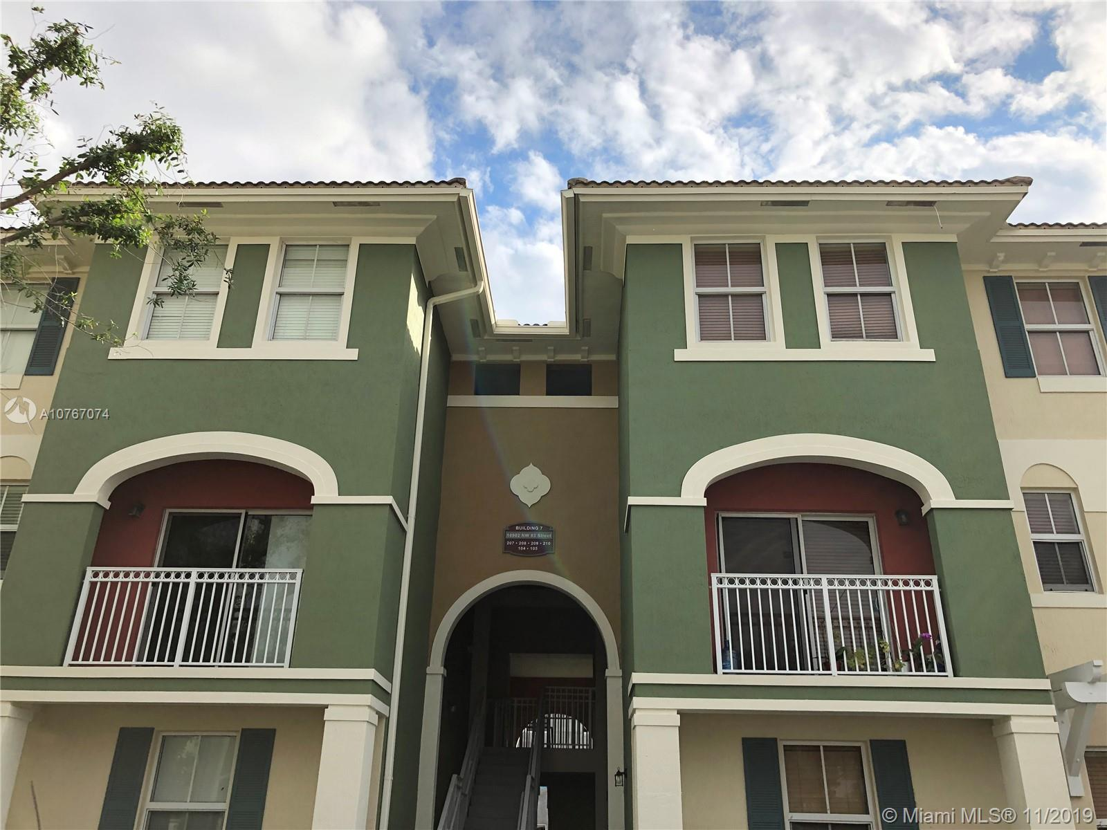 10902 NW 83rd St #210 For Sale A10767074, FL