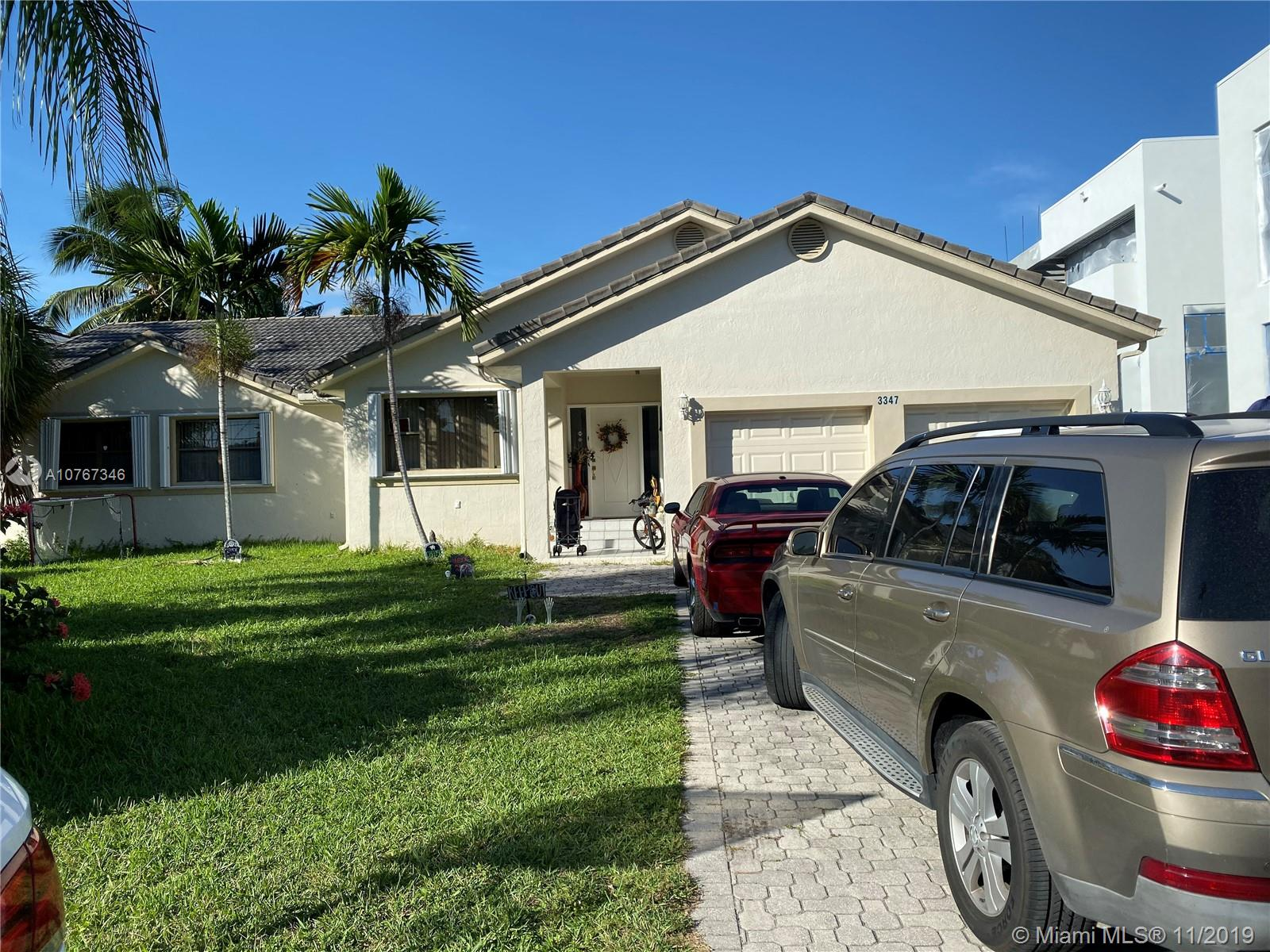3347 NE 168th St  For Sale A10767346, FL