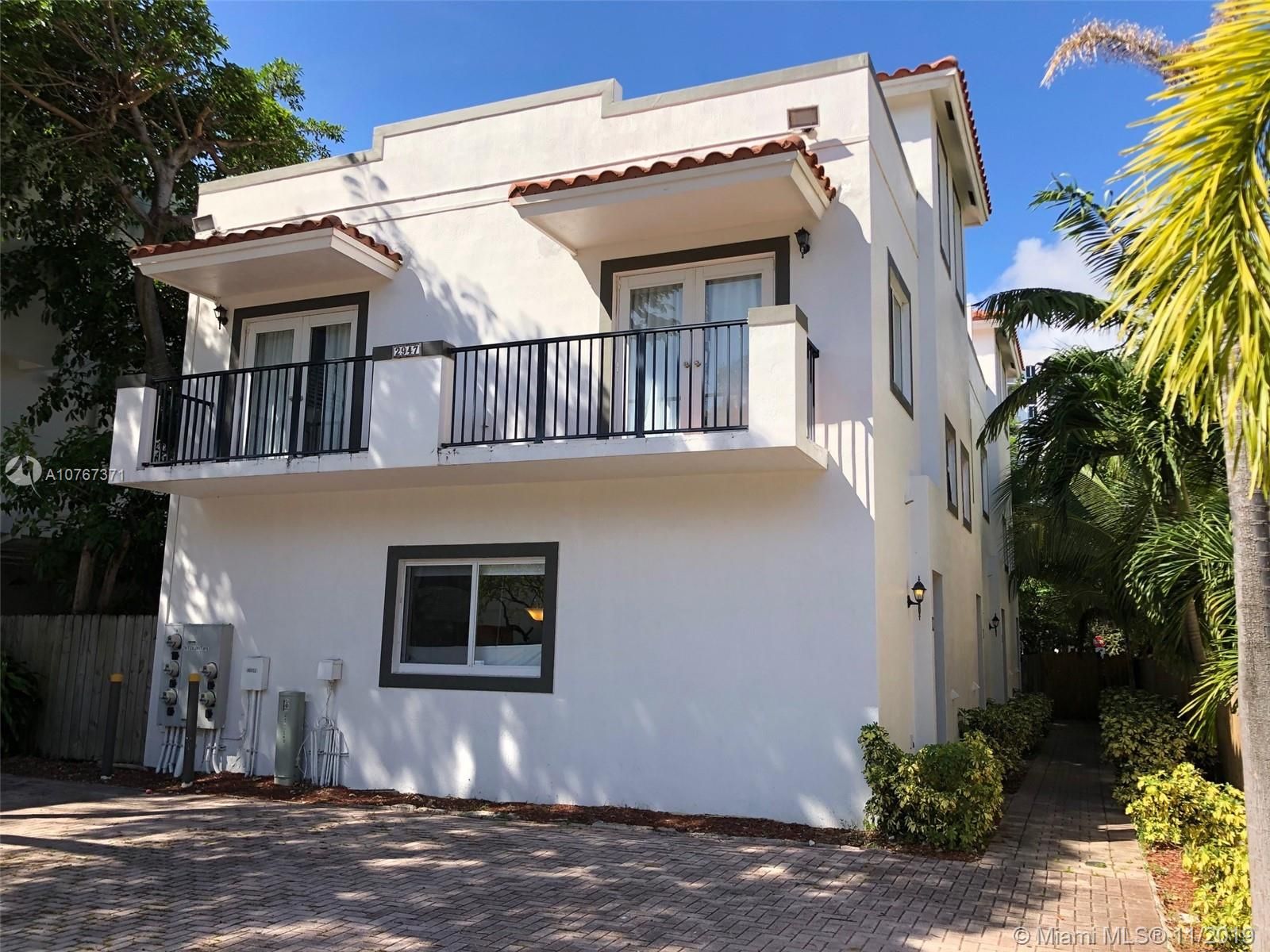 2947  Coconut Ave #3 For Sale A10767371, FL