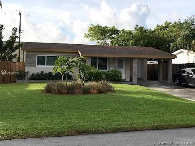 Nearly fully updated home with impact windows and doors, electric tankless water heater, and A/C less than 4 years old. Laundry room indoors, new sod, new landscaping, new fence, all new appliances in kitchen, all new paint on interior, new waterproof luxury vinyl plank flooring throughout house and more. Yard faces south perfect forgardening! Close to Wilton Manors, downtown Fort Lauderdale, airport, and beach!