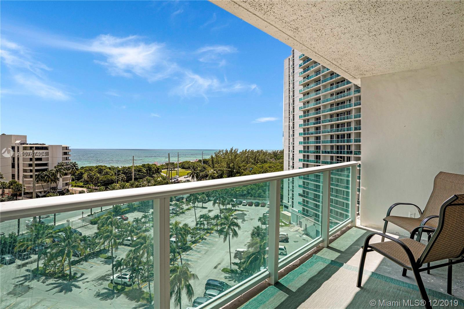 100  Bayview Dr #906 For Sale A10767404, FL