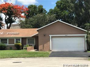 Beautiful 3/2 home with upgraded kitchen & Stainless Steel appliance and updated baths. Gorgeous backyard for entertaining or relaxing. The garage had been converted to room for extra Bedroom or storage. Great Location with easy access to school and highway, close by shop and restaurant and Sawgrass Mall.