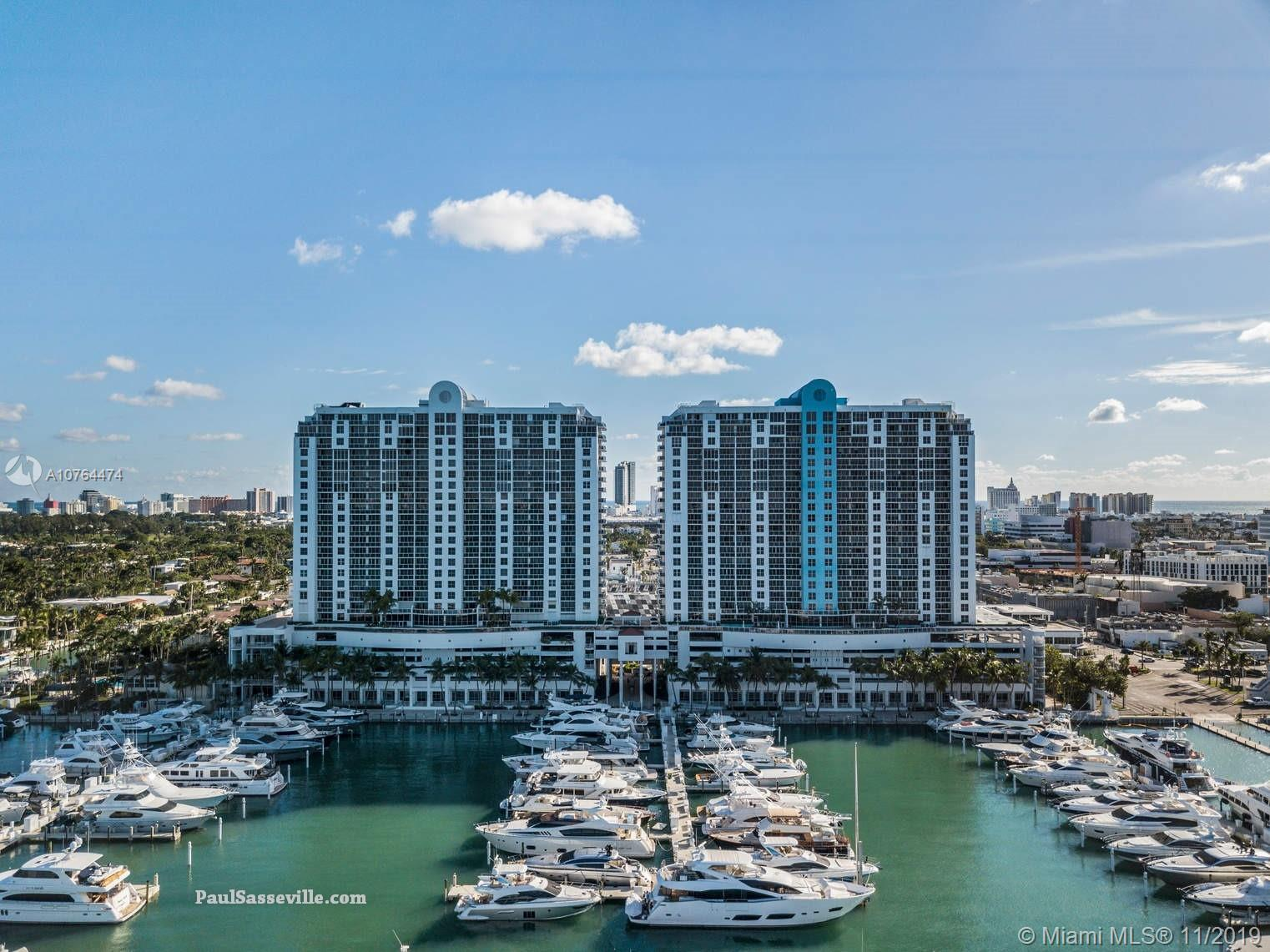 1800  Sunset Harbour Dr #1601 For Sale A10764474, FL