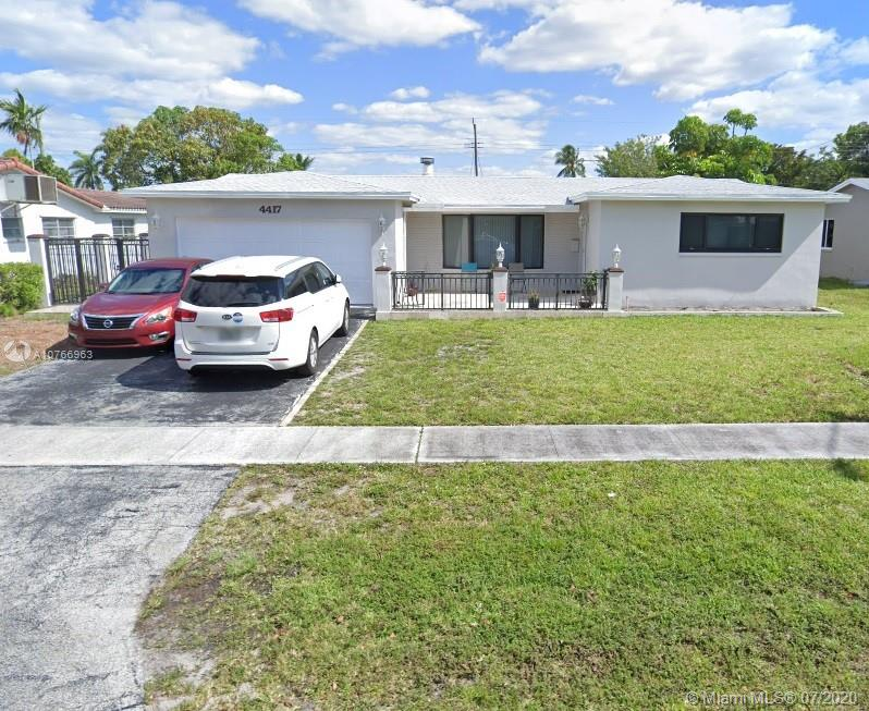 4417  Monroe St  For Sale A10766963, FL
