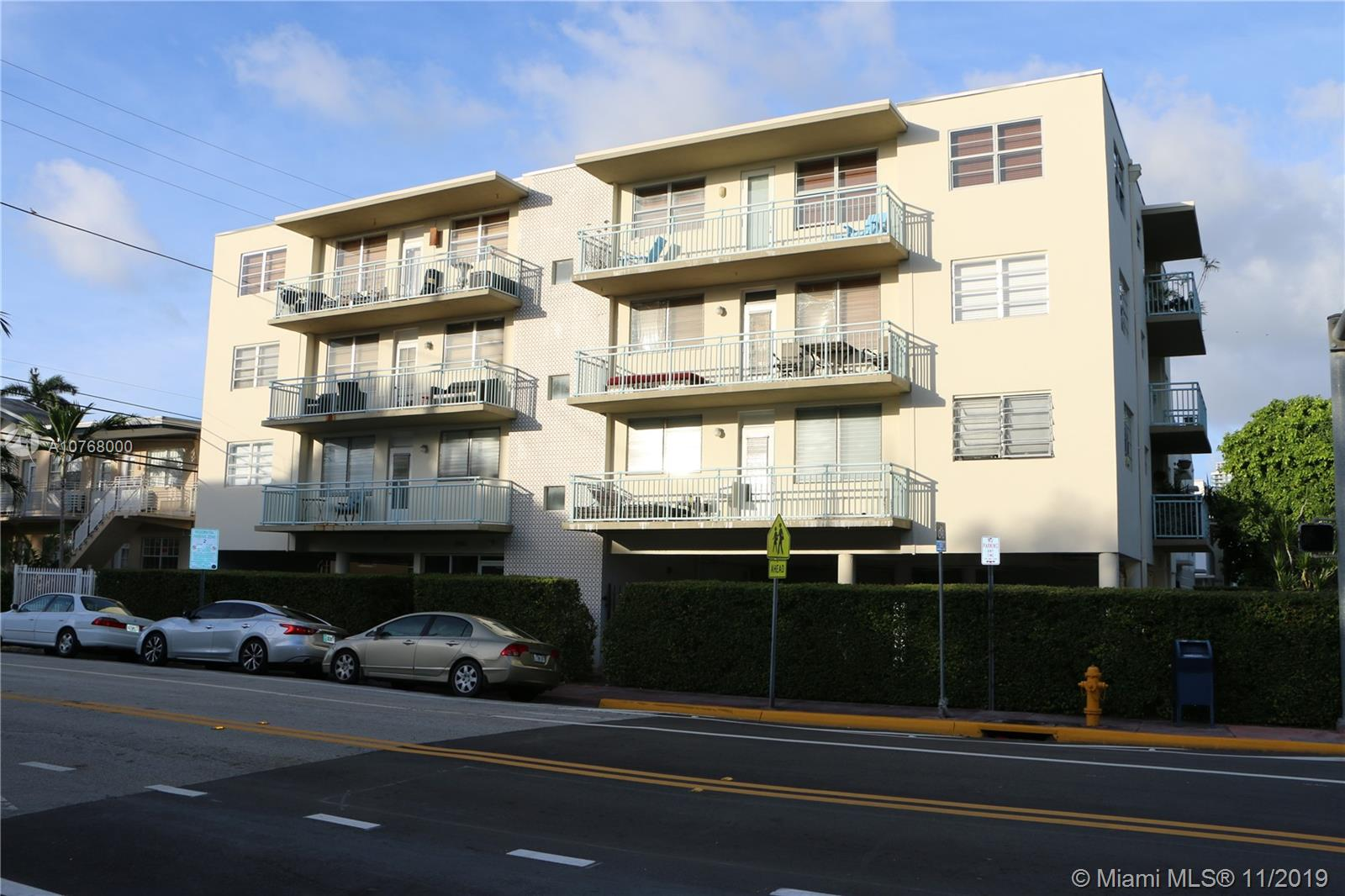 1480  Euclid Ave #101 For Sale A10768000, FL